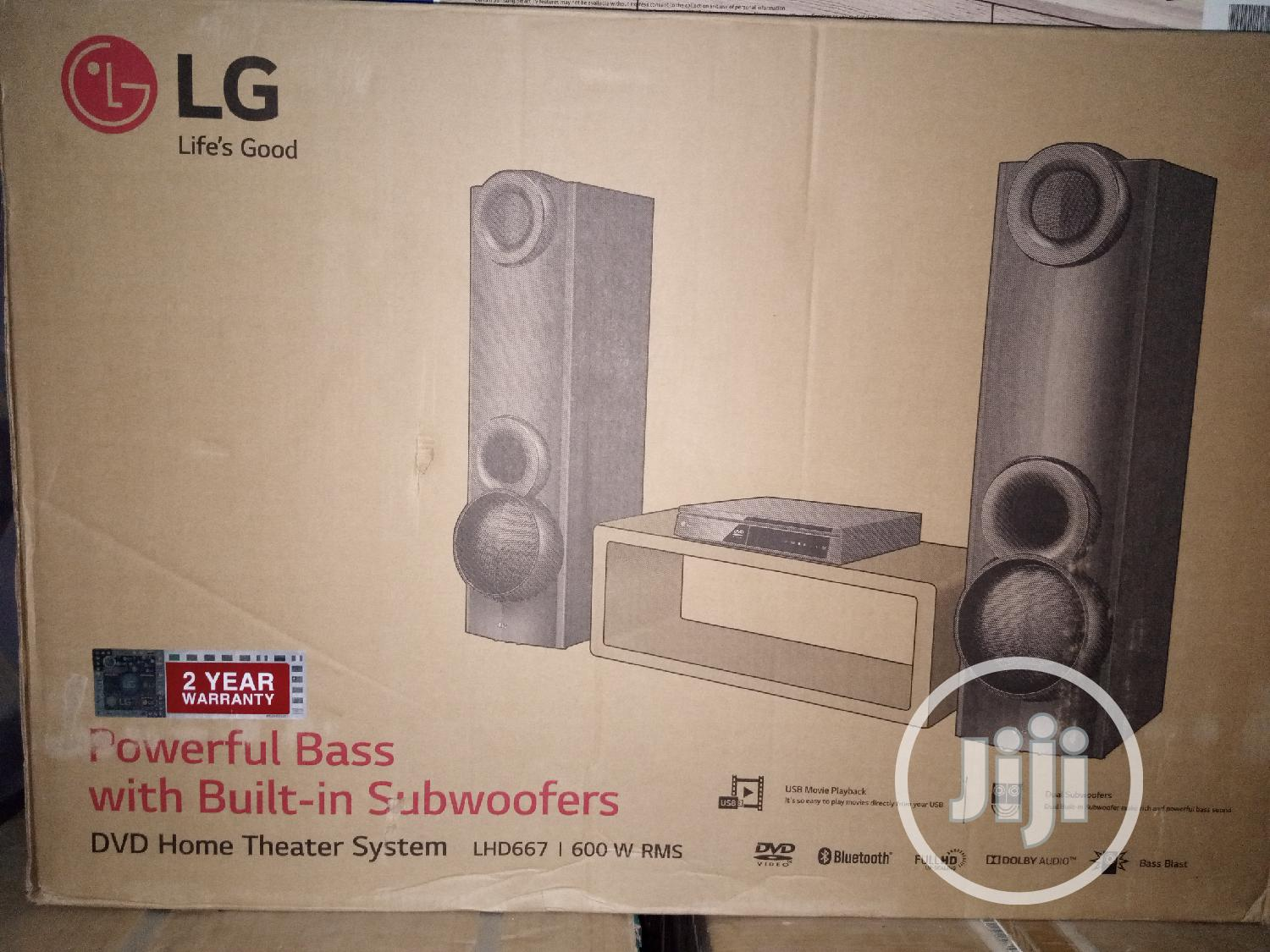 Brand New LG Home Theater Lhd667 (600W)