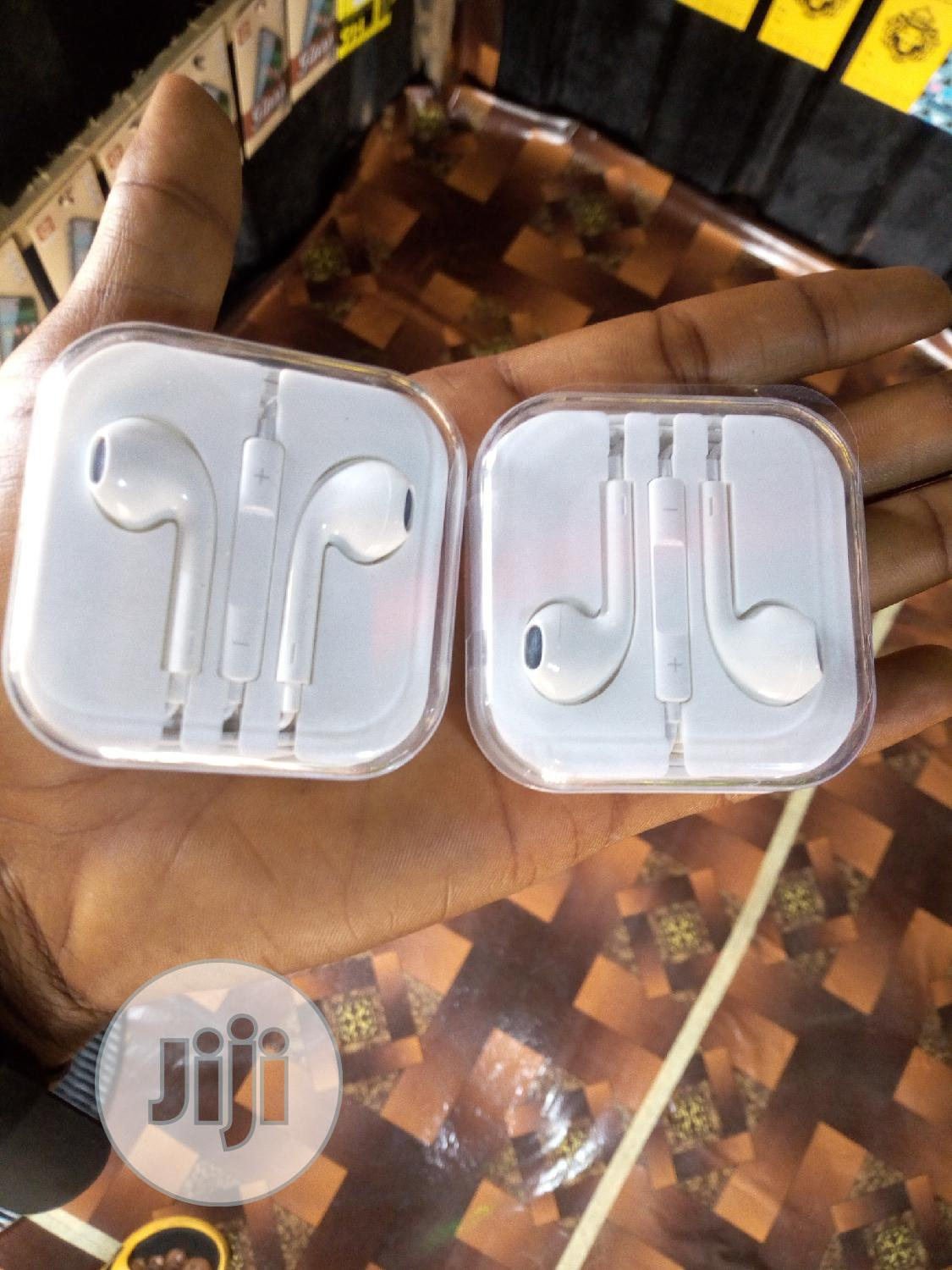 Original Apple Earphone(Brand New)   Accessories for Mobile Phones & Tablets for sale in Ikpoba-Okha, Edo State, Nigeria
