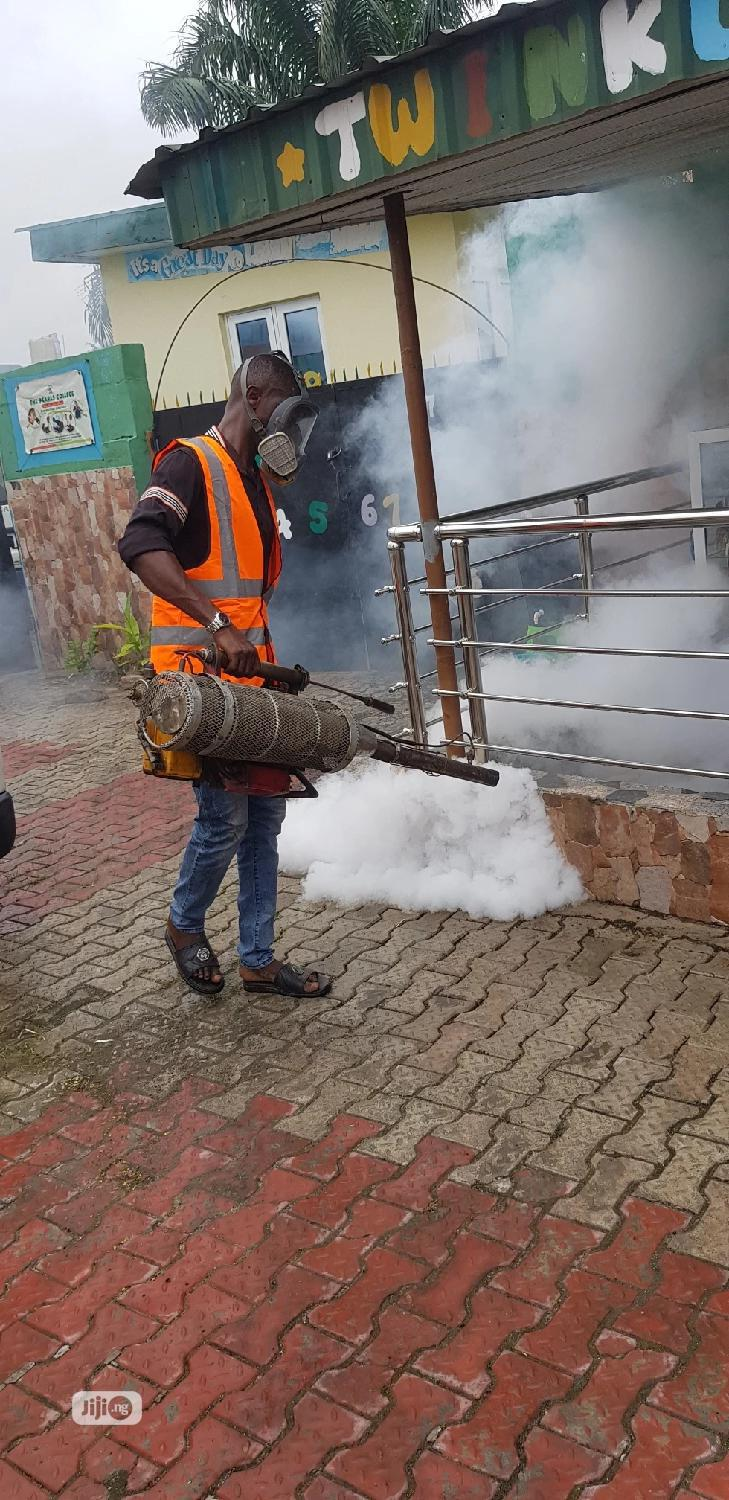 Fog Machine Fumigation | Cleaning Services for sale in Ikoyi, Lagos State, Nigeria