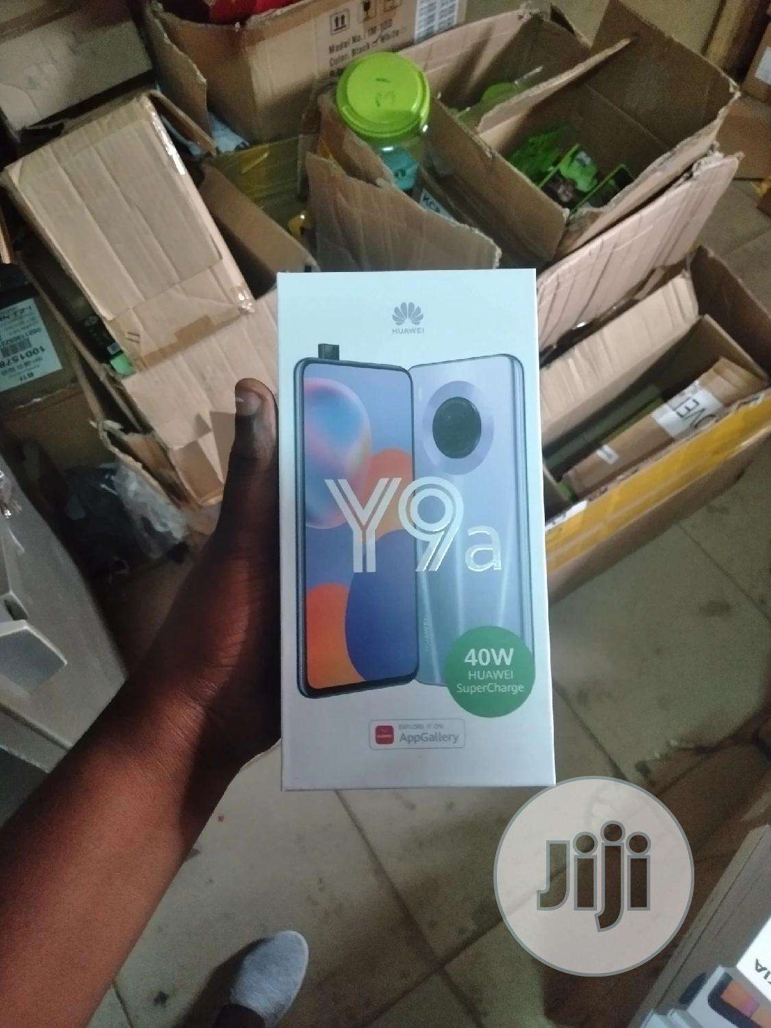 New Huawei Y9a 128GB Silver | Mobile Phones for sale in Ikeja, Lagos State, Nigeria