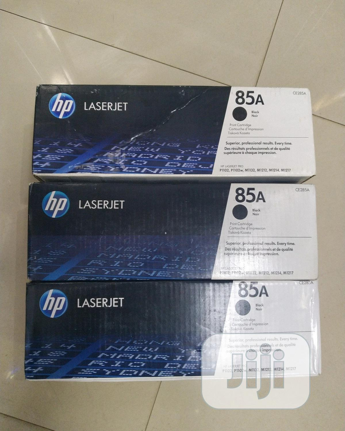 HP Laserjet 85A Black Original Toner Cartridge | Accessories & Supplies for Electronics for sale in Wuse 2, Abuja (FCT) State, Nigeria