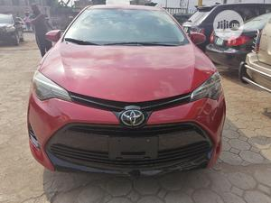 Toyota Corolla 2019 LE (1.8L 4cyl 2A) Red | Cars for sale in Lagos State, Alimosho