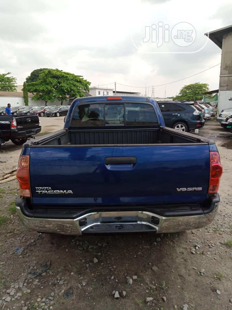 Toyota Tacoma 4x4 Access Cab 2008 Blue | Cars for sale in Amuwo-Odofin, Lagos State, Nigeria