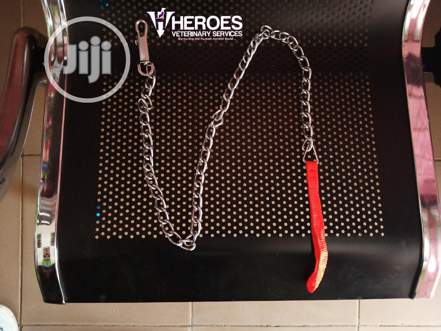 Dog Chrome Chain | Pet's Accessories for sale in Kubwa, Abuja (FCT) State, Nigeria