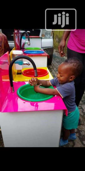 Kids Sensor Automatic Soap And Water Dispenser | Safetywear & Equipment for sale in Lagos State, Ikeja
