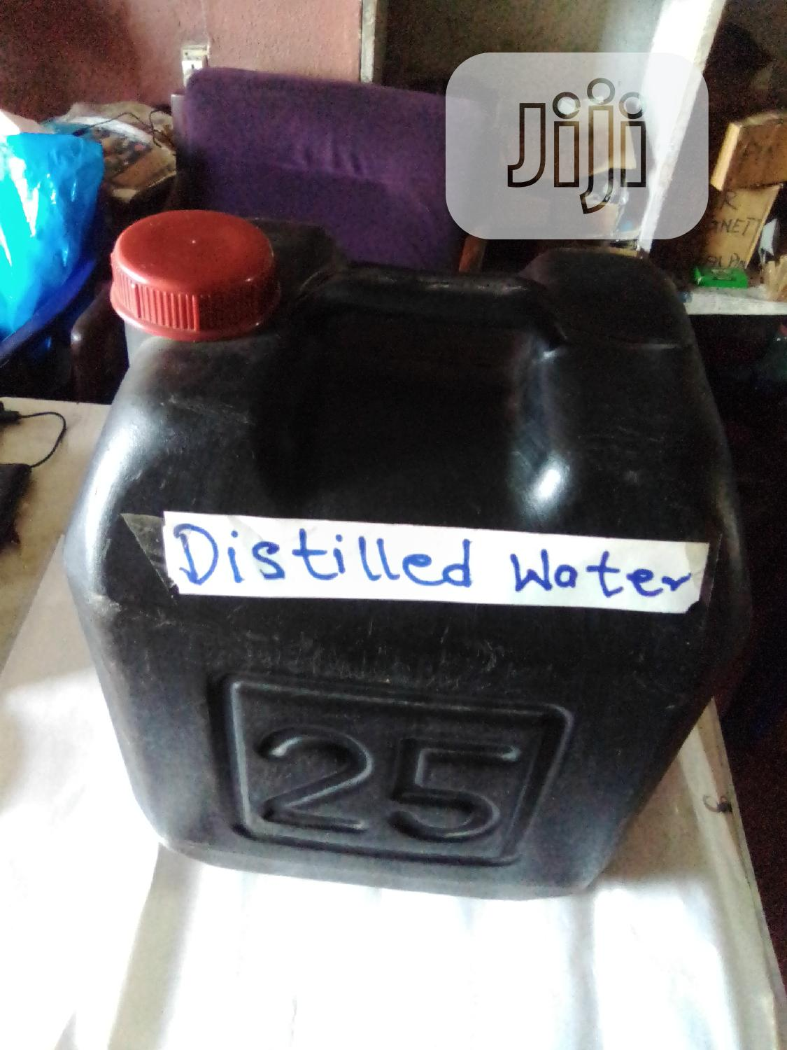 Distilled Water 25 Litres