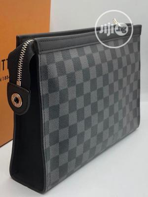 Black and Grey Color Louis Vuitton Pouch | Bags for sale in Lagos State, Lagos Island (Eko)