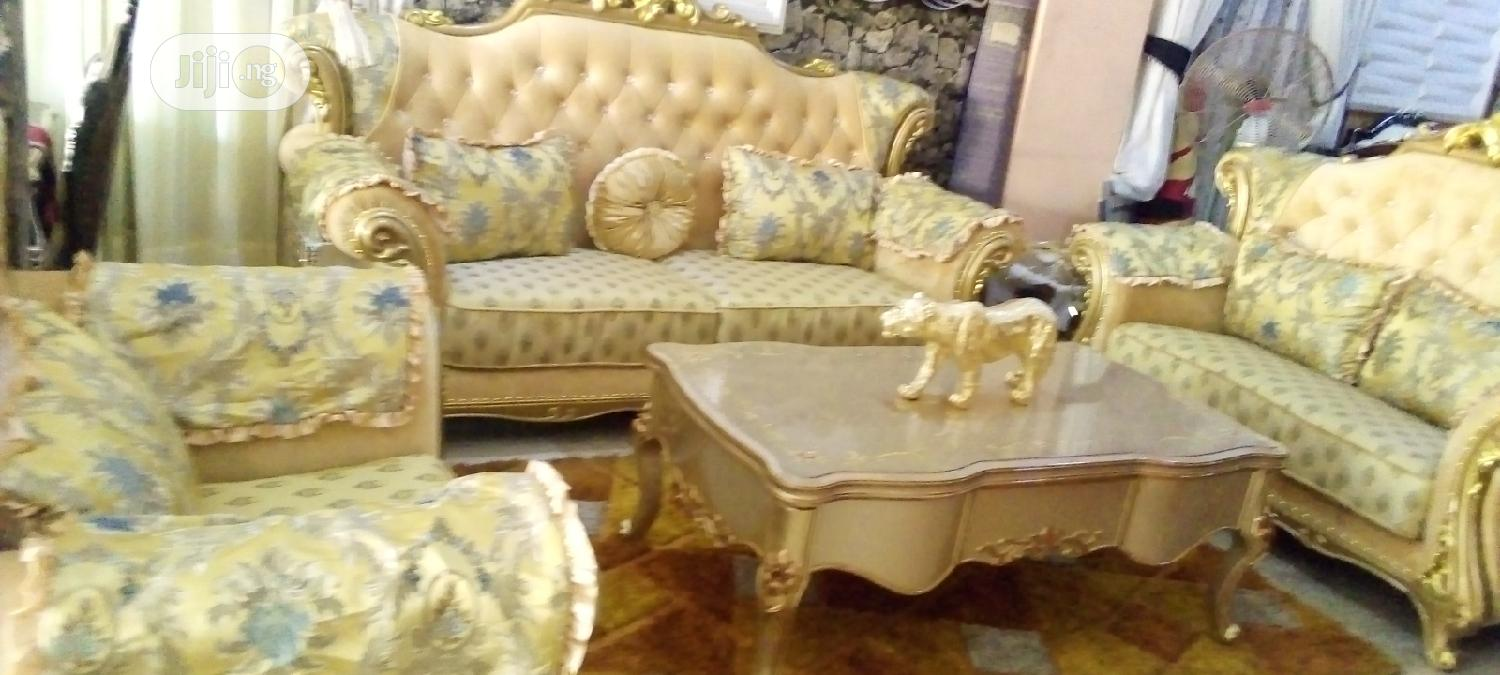Archive: Good Quality Royal Chair With Center Table