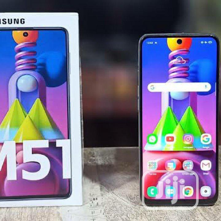 New Samsung Galaxy M51 Black | Mobile Phones for sale in Surulere, Lagos State, Nigeria