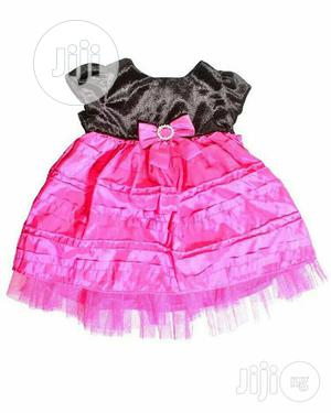 Pink and Black George 3-6 Months Ball Gown.   Children's Clothing for sale in Abuja (FCT) State, Wuse 2