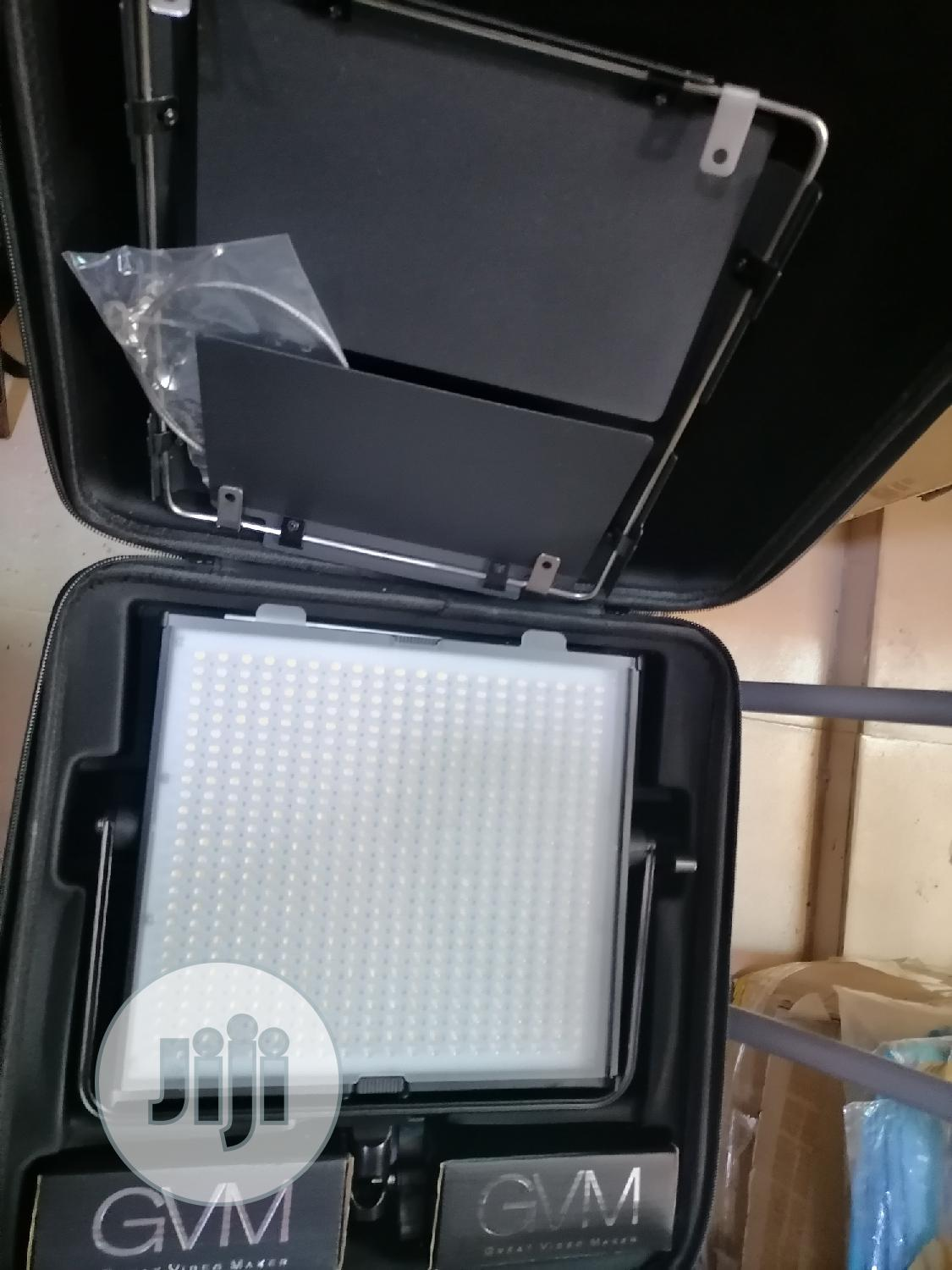 GVM 520LS-B Dimmable Bi-color LED Video Panel Light | Accessories & Supplies for Electronics for sale in Ojo, Lagos State, Nigeria