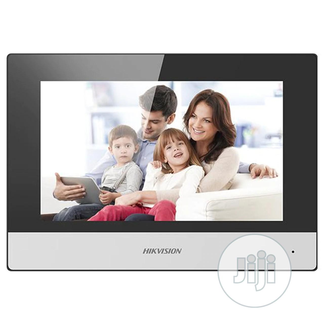 DS-KH6320-WTE1 Touchscreen Wi-fi Video Indoor Station
