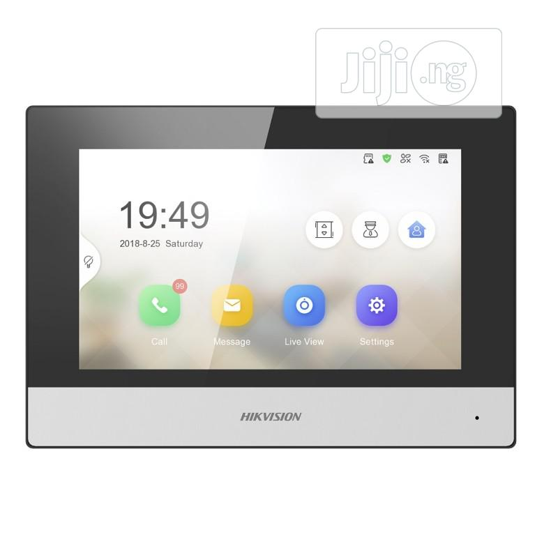 DS-KH6320-WTE1 Touchscreen Wi-fi Video Indoor Station | Home Appliances for sale in Ikeja, Lagos State, Nigeria