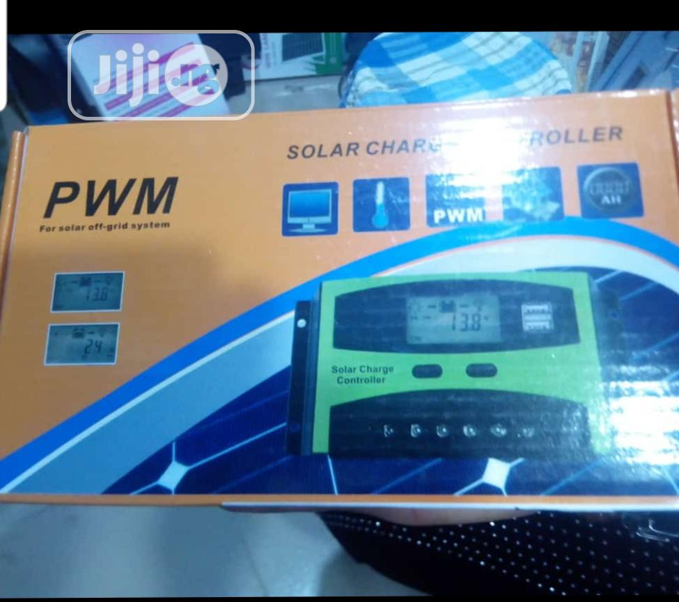 Archive: Solar Charger Controller PWM 60AH 12/24/36/48V