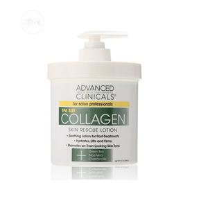 Advanced Clinicals Collagen Skin Rescue Lotion Hydrate, Mois | Skin Care for sale in Lagos State, Amuwo-Odofin