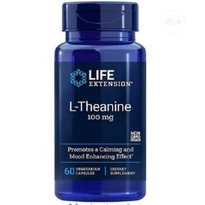 Life Extension L Theanine 100 Mg - 60 Vegetarian Capsules | Vitamins & Supplements for sale in Lagos State, Amuwo-Odofin