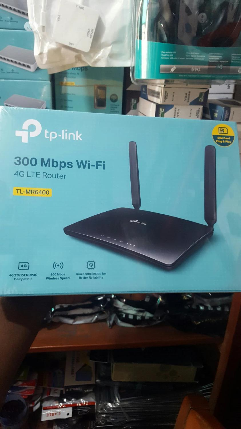 Tp-link 300mbps Wireless N 4glte Router Tl-mr6400