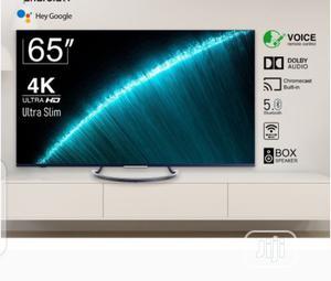 "Syinix 65"" LED Ultra HD Android 4K Version Slim Frameless TV | TV & DVD Equipment for sale in Abuja (FCT) State, Gwagwalada"