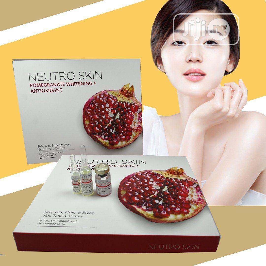 Neutro Skin Pomegranate Whitening + Antioxidant Injection | Vitamins & Supplements for sale in Ojo, Lagos State, Nigeria