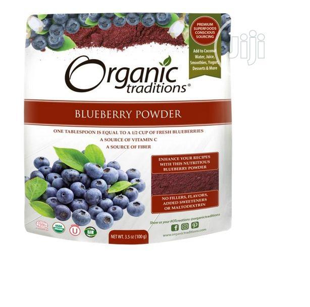 Organic Traditions Blueberry Powder 3.5 Oz 100g