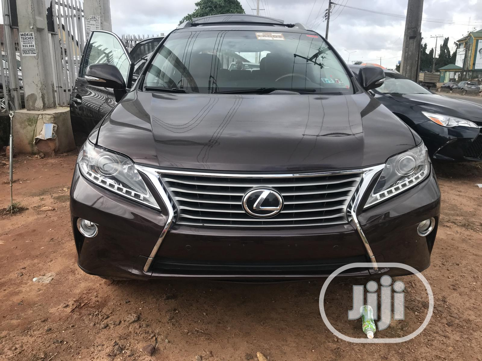 Lexus RX 2013 350 F SPORT AWD Red