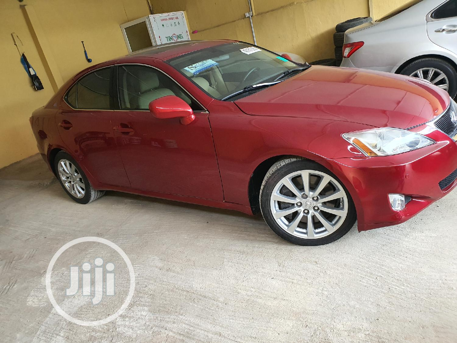 Lexus IS 2006 350 Red | Cars for sale in Surulere, Lagos State, Nigeria