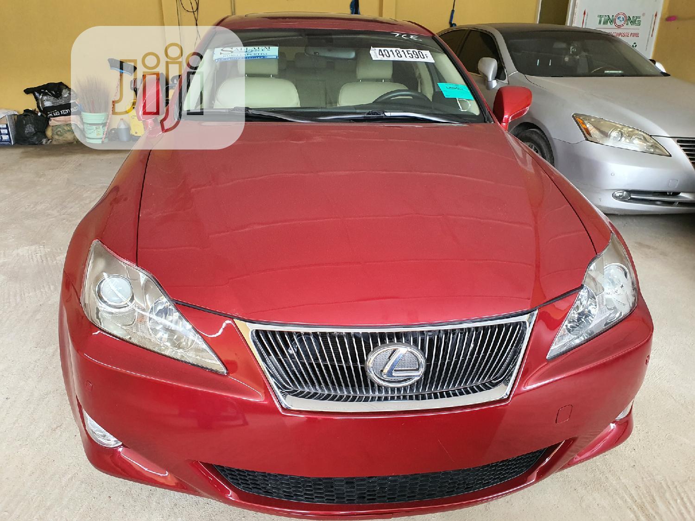 Lexus IS 2006 350 Red