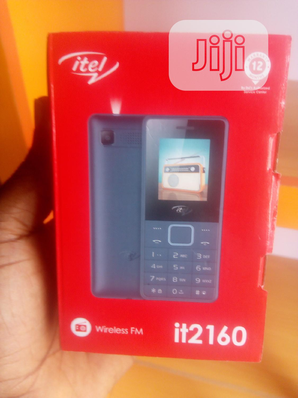 New Itel it2160 Black
