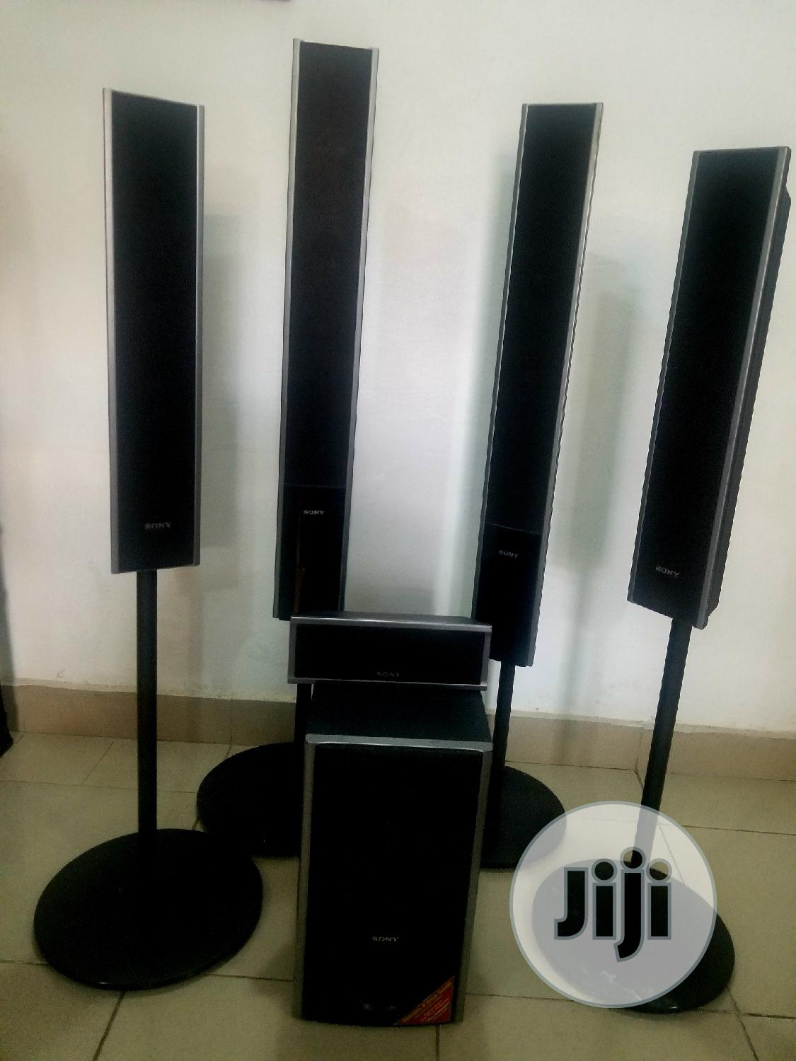 Archive: Original Sony Home Theater Speakers & Woofer