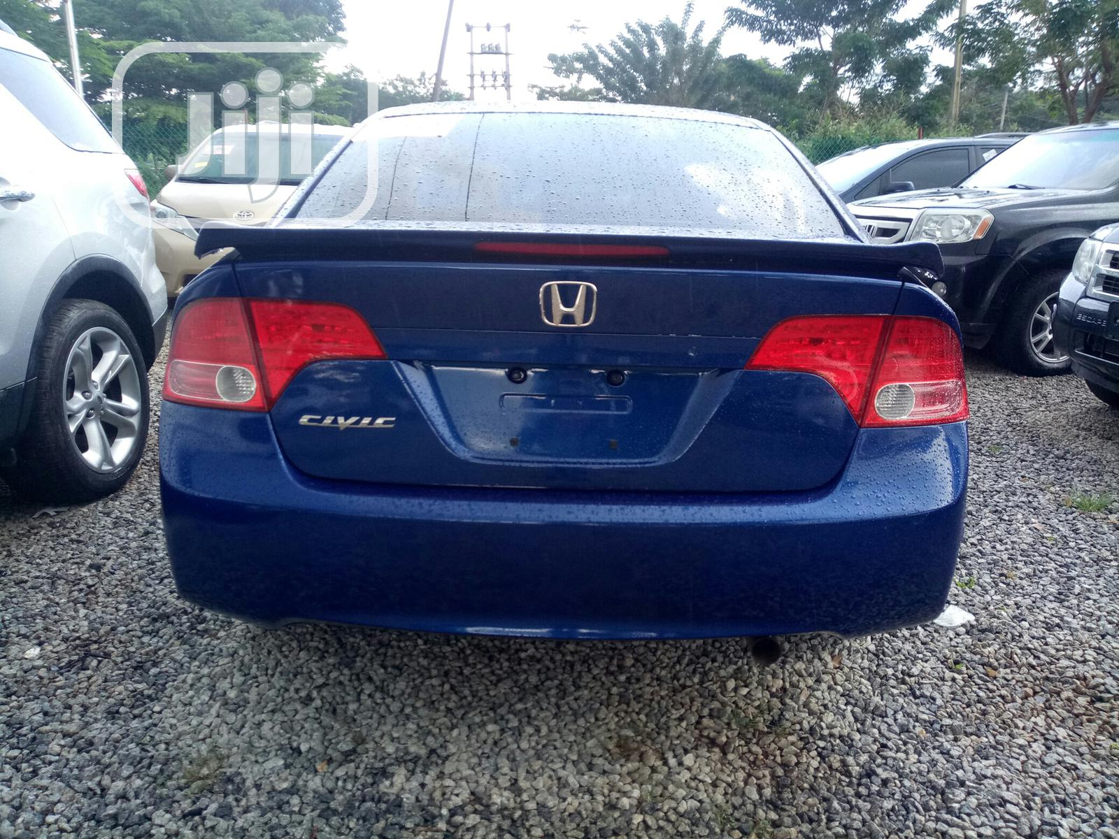 Honda Civic 2007 1.8 Sport Automatic Blue | Cars for sale in Galadimawa, Abuja (FCT) State, Nigeria