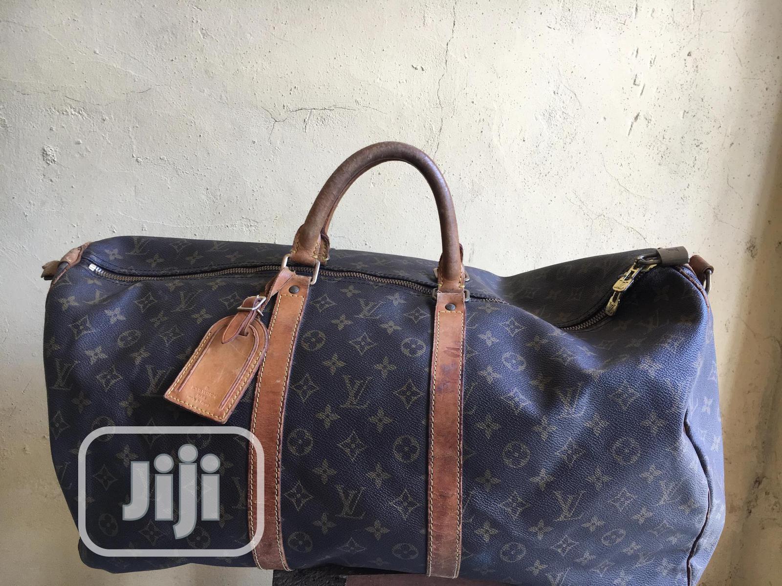 Original Louis Vuitton Duffel Bag (Italian Leather )
