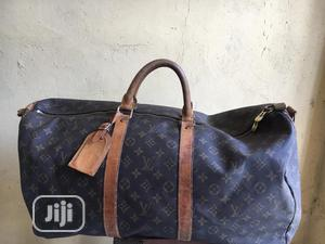 Original Louis Vuitton Duffel Bag (Italian Leather )   Bags for sale in Lagos State, Isolo
