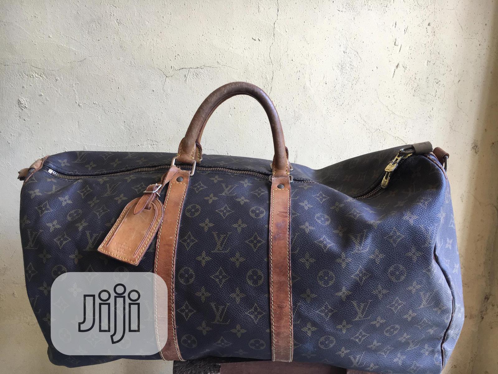 Original Louis Vuitton Duffel Bag (Italian Leather ) | Bags for sale in Isolo, Lagos State, Nigeria
