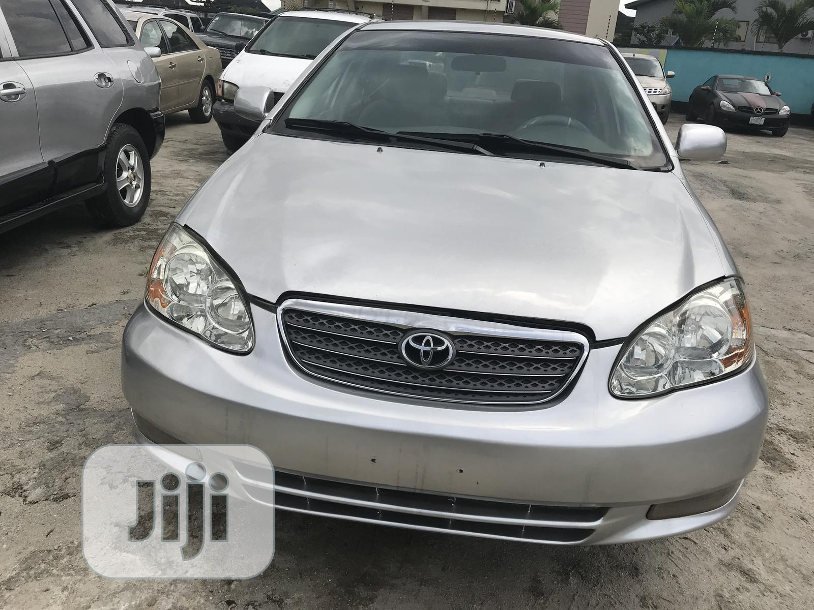 Toyota Corolla 2005 Silver In Port Harcourt Cars Queen Ikilowei Jiji Ng For Sale In Port Harcourt Buy Cars From Queen Ikilowei On Jiji Ng