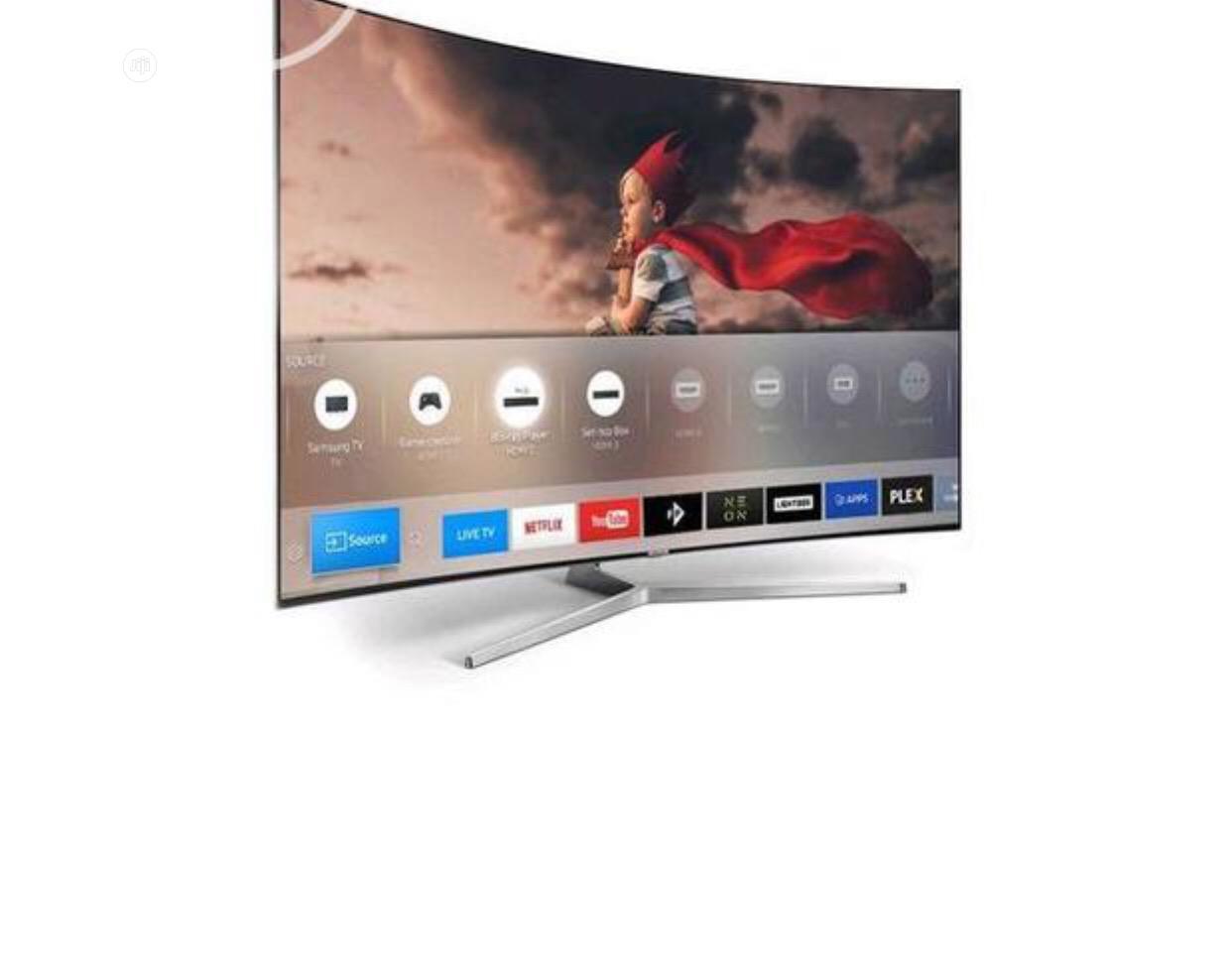 Polystar 43 Inch Smart Curved TV