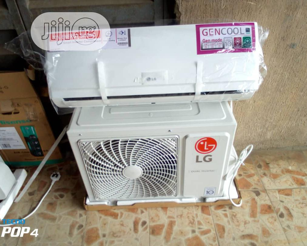 Brand New Lg 1.5hp Split Unit A.C With 2years Warranty Sign
