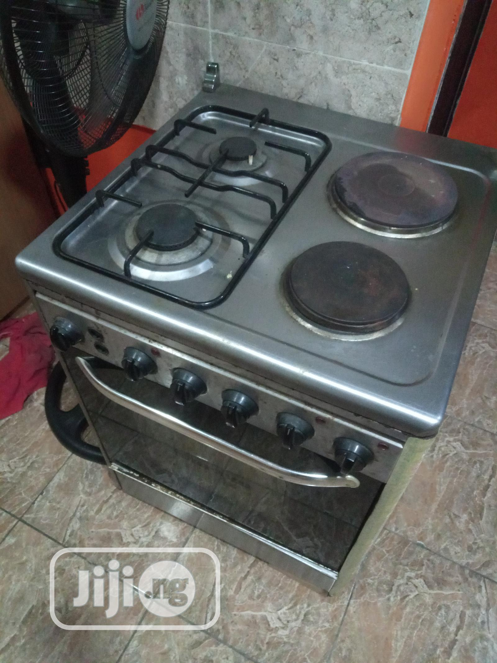 Gas Oven Wit Electric and Gas | Kitchen Appliances for sale in Oshodi, Lagos State, Nigeria