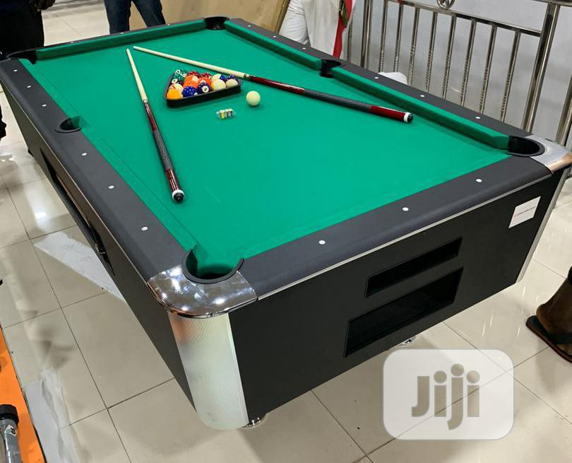 Archive: Marble and Coin Snooker 7ft American Fitness.