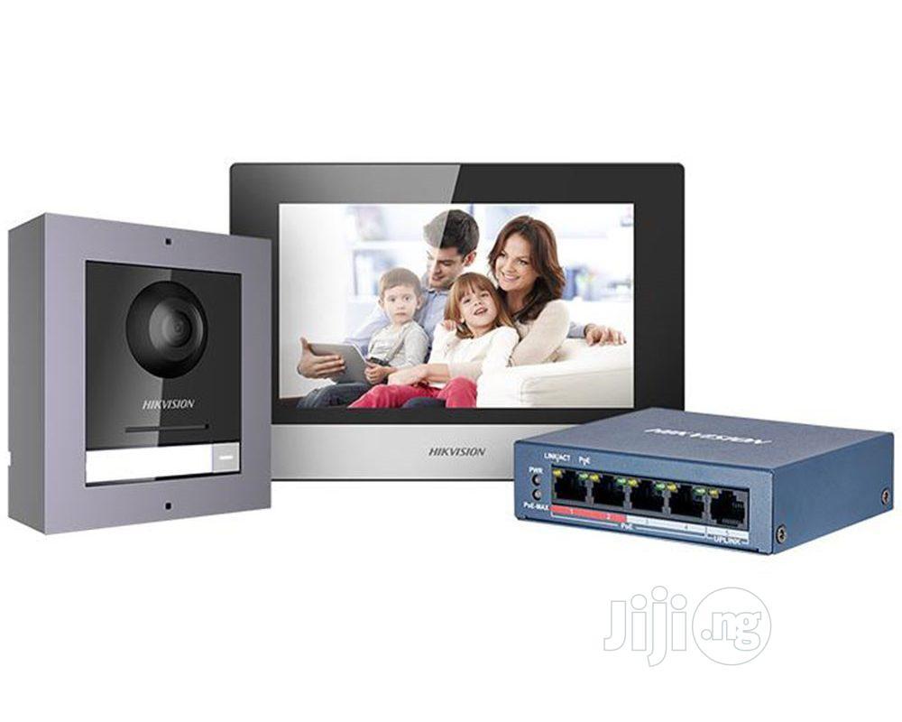 Hikvision IP Video Door Phone KIT   DS-KIS602
