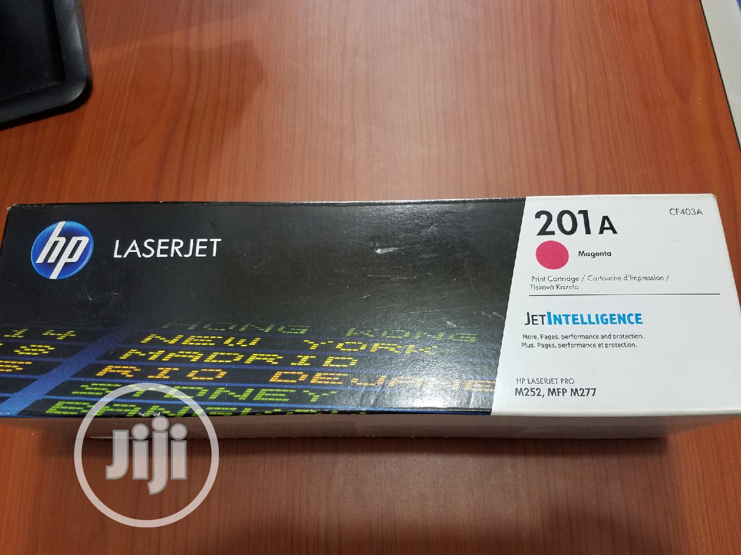 Hp Laserjet 201A Magenta Toner | Accessories & Supplies for Electronics for sale in Ikeja, Lagos State, Nigeria