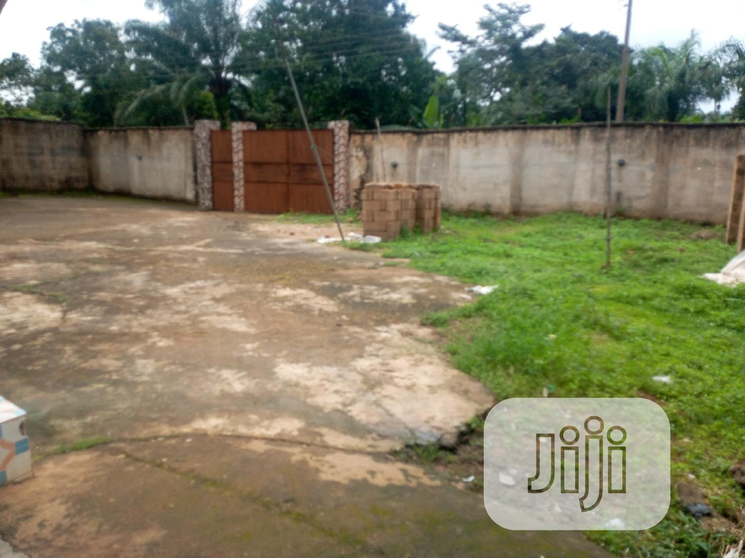 Bungalow Uncompleted Building 2 Plots of Land for Sale
