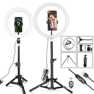 """12 Inch"""" Usb Selfie Led Ring Light With 2.1m Tripod 