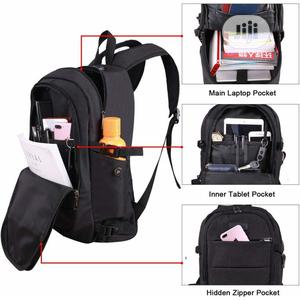 Anti Theft Waterproof Laptop Backpack With Usb Charging Port | Bags for sale in Lagos State, Ipaja