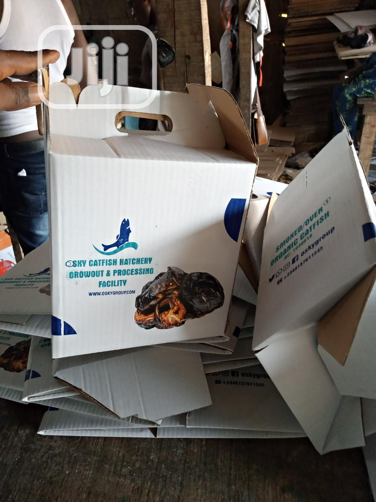Fish Packaging Carton Box