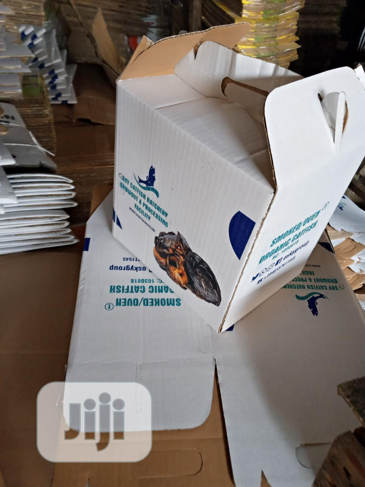 Fish Packaging Carton Box | Manufacturing Services for sale in Ikeja, Lagos State, Nigeria