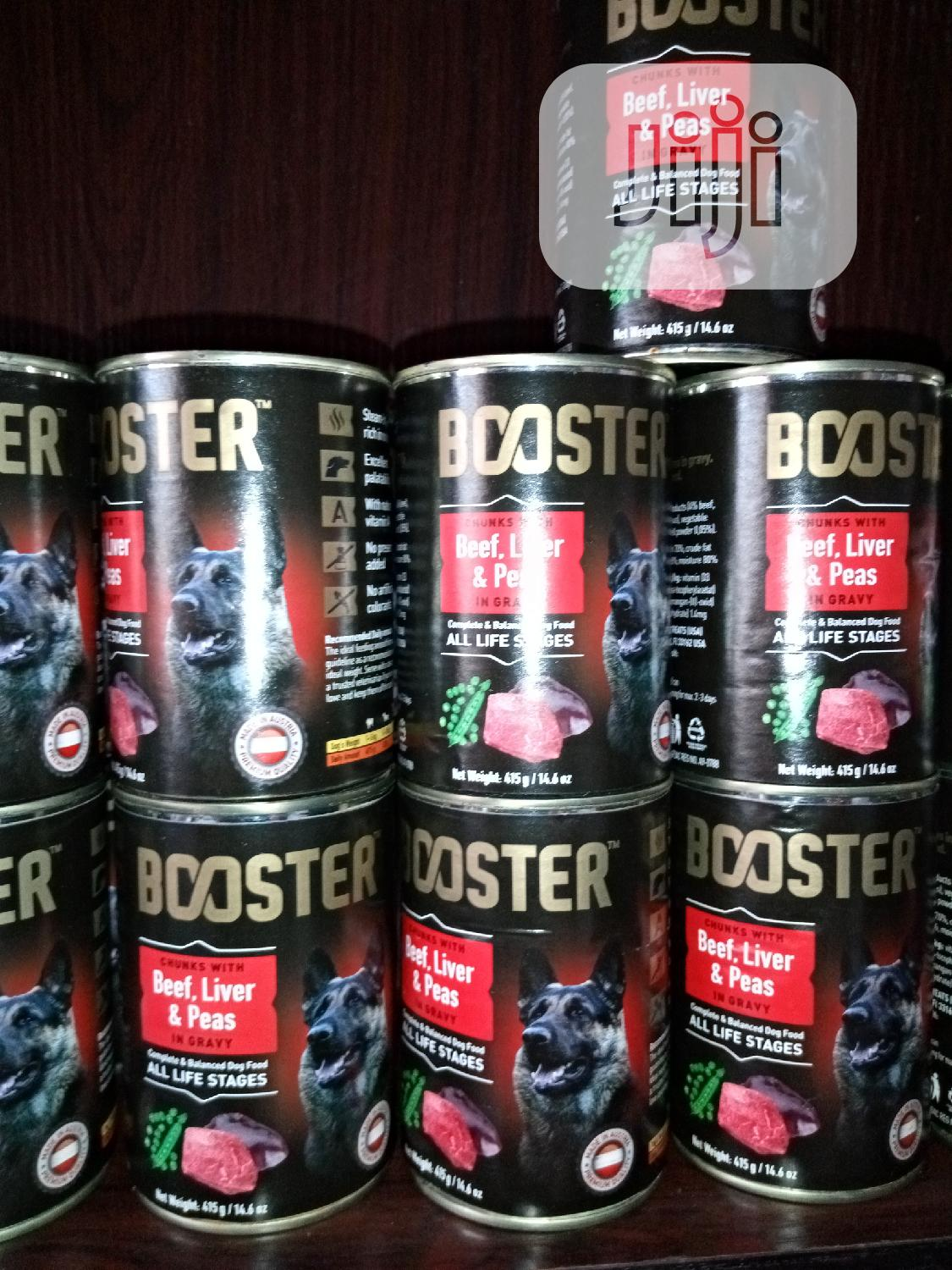 Booster Can Food