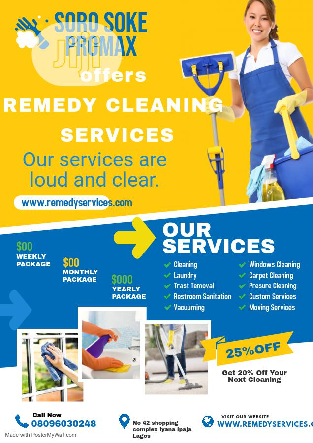 Archive: Remedy Cleaning Services