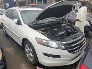 Honda Accord CrossTour 2010 EX-L AWD White | Cars for sale in Lagos State, Surulere