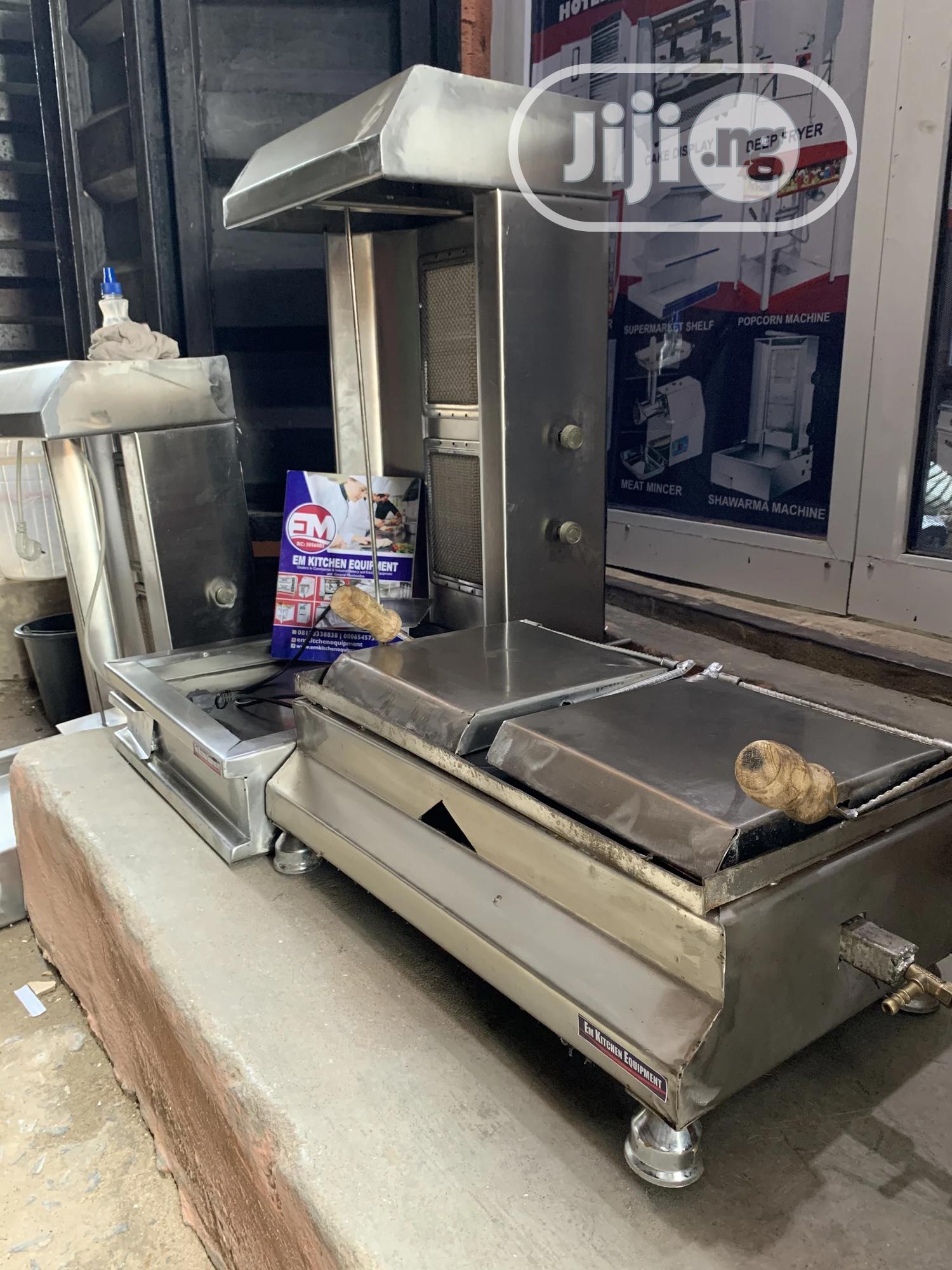 Shawarma Machine Grill And Toaster