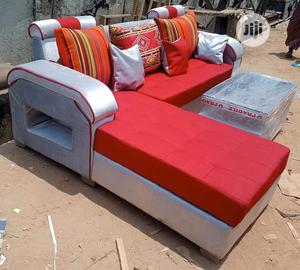 Modern L Shape With Center Table | Furniture for sale in Lagos State, Agboyi/Ketu